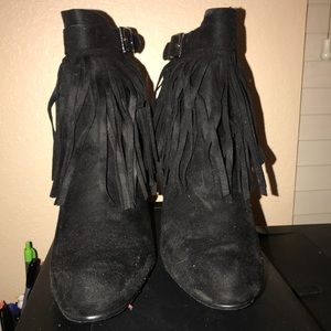{styles} fringes ankle boots